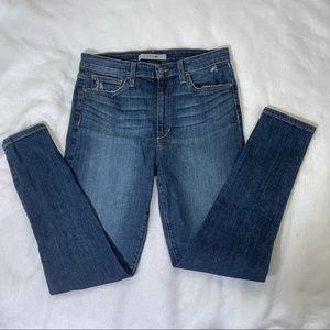 Joe's Jeans High Rise Skinny Ankle Medium Wash